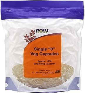 NOW Supplements, Empty Capsules, Vegetarian, Single