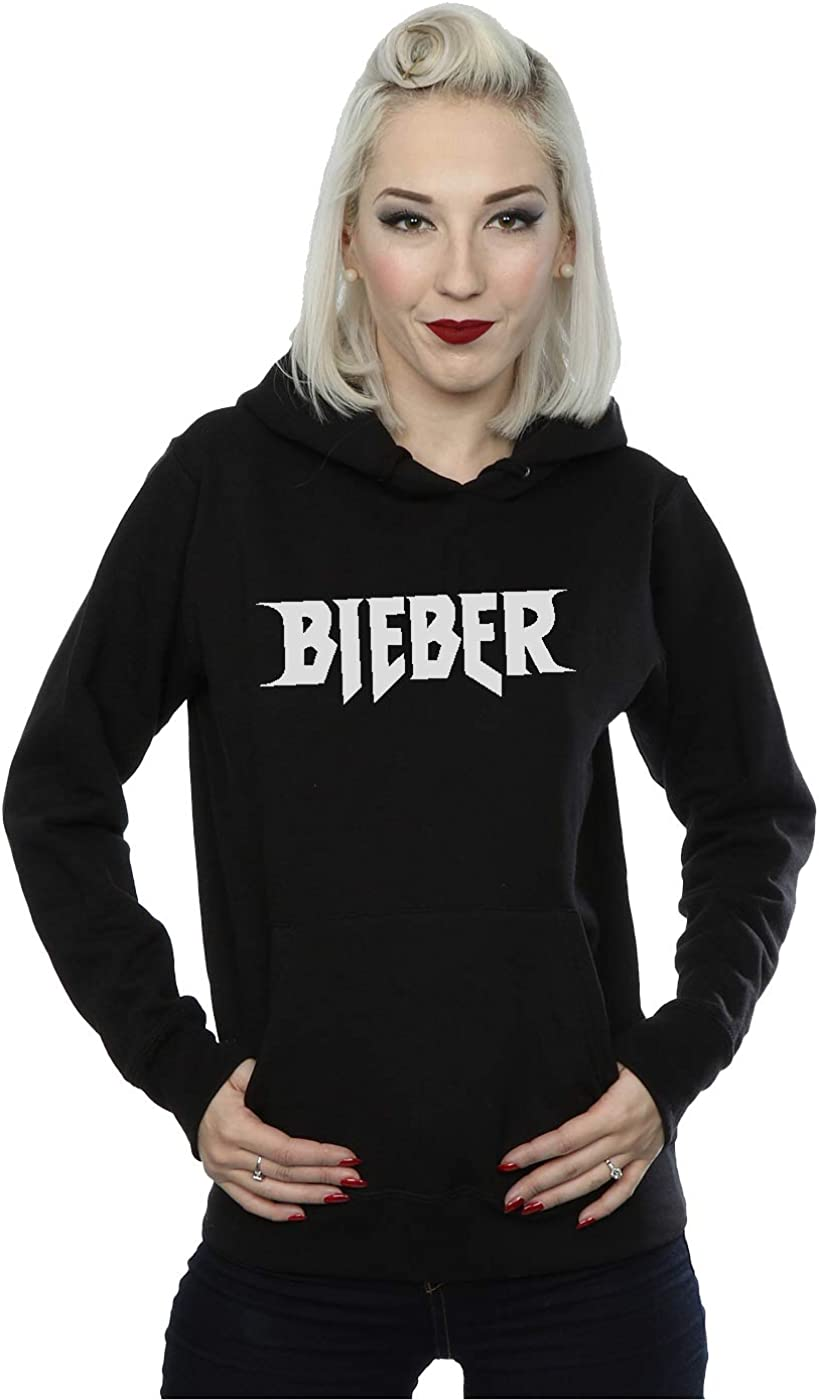 Justin Bieber mujer Simple Logo Capucha