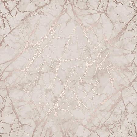 Metallic Marble Wallpaper Rose Gold Fine Decor Fd42268 Amazon Co Uk Diy Tools