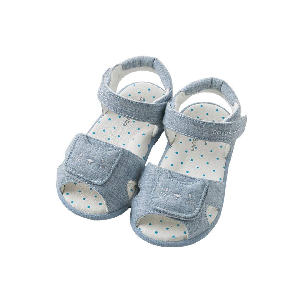 davebella戴维贝拉夏季新款男女童鞋子 宝宝卡通凉鞋DB9708