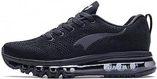 huge selection of 36844 3d1f1 ONEMIX Running Chaussure Hommes 3D Knit Coussin d air Léger pour La Marche  Gym Fitness