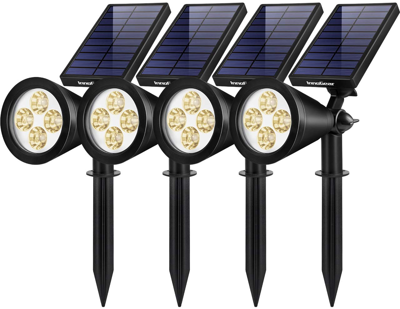 InnoGear Solar Lights Outdoor Spotlights