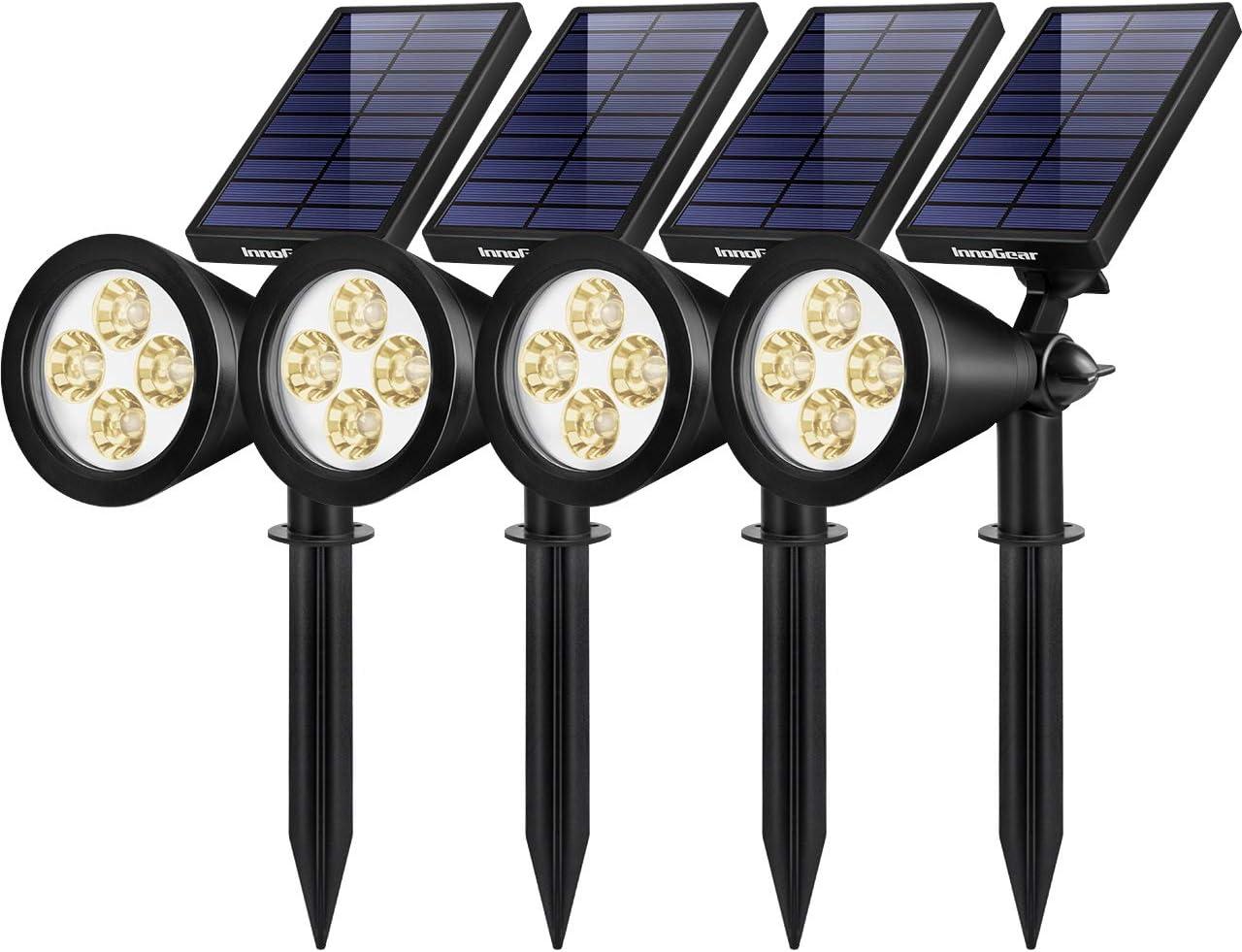 InnoGear 4 years warranty Solar Cheap Lights Outdoor Waterproof Powered Upgraded