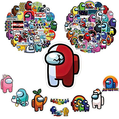 100PCS is The Most Popular Game Sticker Decal for laptops, Bumpers, Water Bottles, Computers, Phones, Helmets, car DIY Stickers and Vinyl Waterproof Stickers.