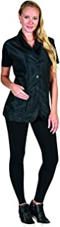 (S, Black) - Betty Dain Kool Breeze Mesh Back Salon Stylist Vest, S