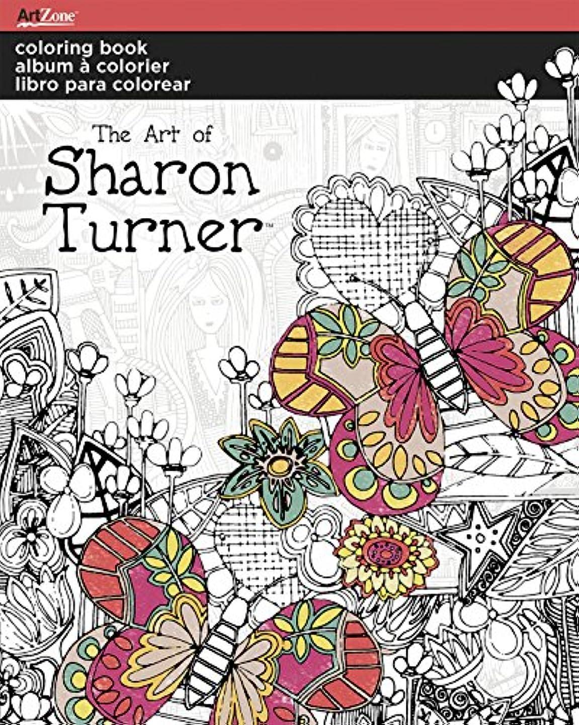 Trends International Sharon Turner Coloring Book