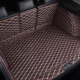 Luomp Tronc Mat, Plein Cuir imperméable entouré Tapis de Coffre pour Mercedes W177...