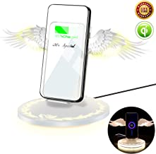 Best 10w qi wireless fast charger stand Reviews