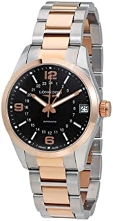 Longines Conquest Classic - L2.799.5.56.7 - 18K Yellow Gold Chronograph GMT Automatic Men's