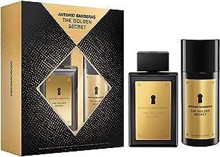 Kit Perfume The Golden Secret Masculino Antonio Banderas EDT 100ml + Desodorante 150ml