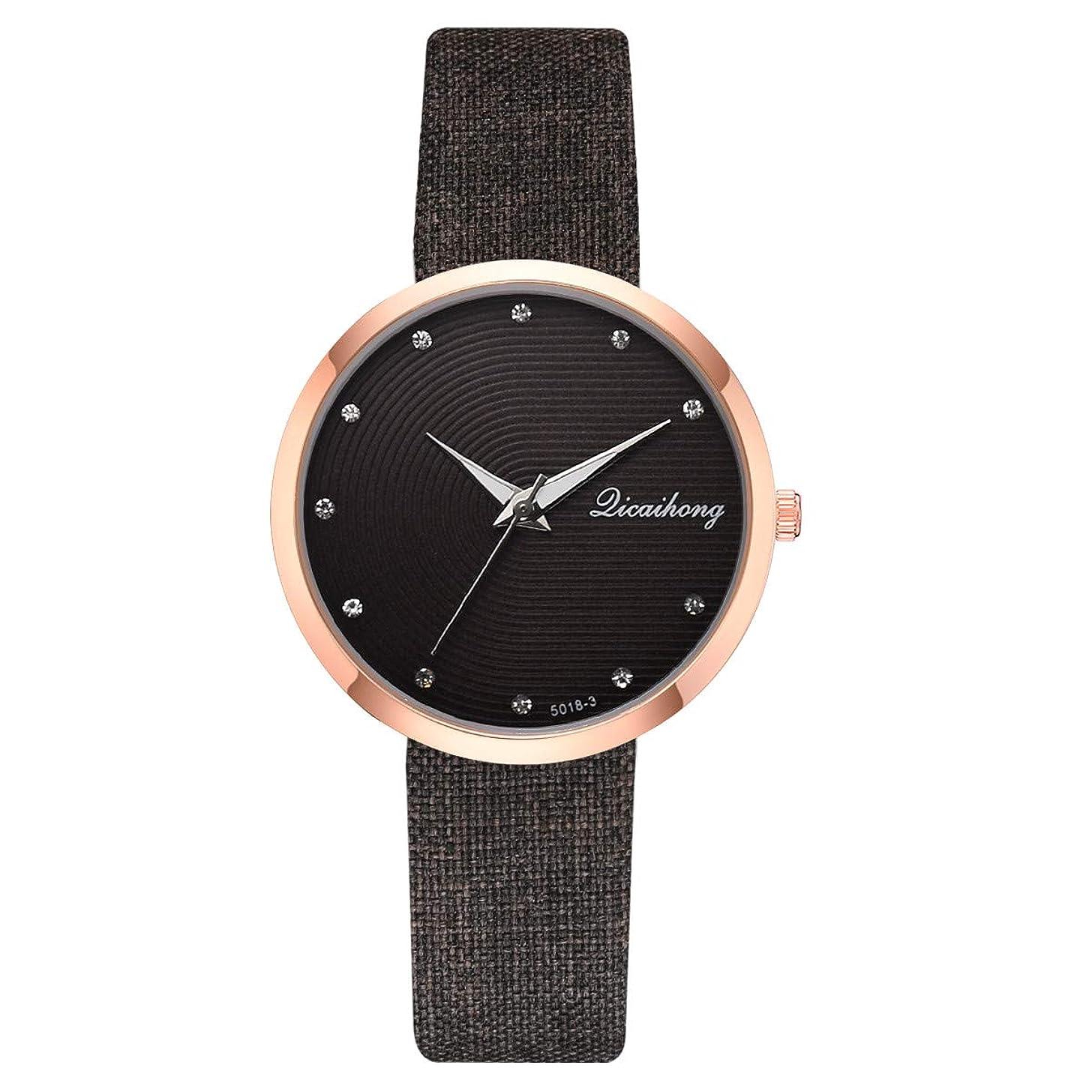 LUCAMORE Women Watches Leather Band Elegant Quartz Watches Girls Ladies Wristwatch
