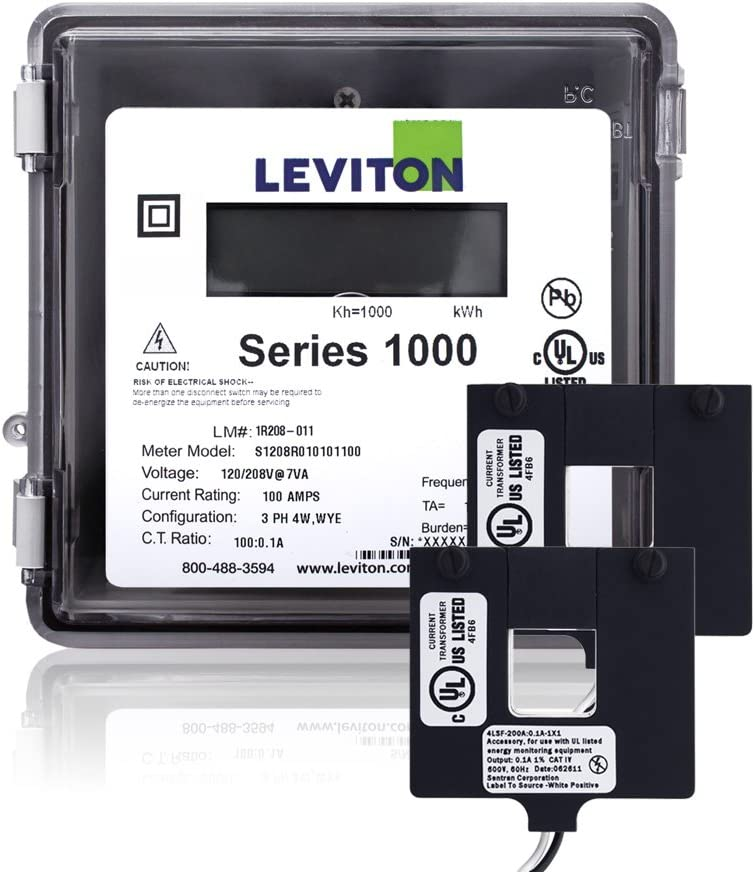 Leviton 1O240-2W Series 1000 120 240V Max 78% OFF Outdoor 200A 1P3W Kit New Orleans Mall with