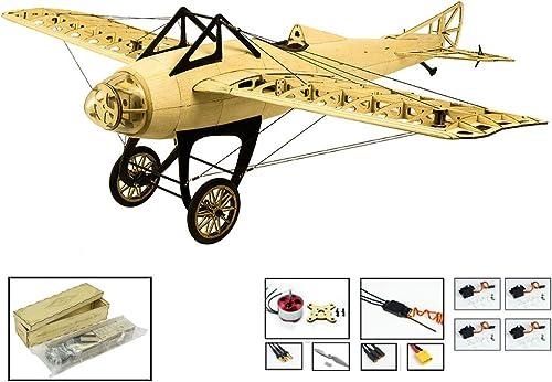 DW Hobby Kit d'avions en Bois Balsa Monocoque en Bois 1 m pour Adultes