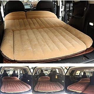 HongLianRiven Cama de viaje 190 x 119 x 12,5 cm Cama de coche para camping, coche SUV, colchón inflable para auto colchón inflable portátil, cojín inflable para coche, cama de viaje de 5 a 19