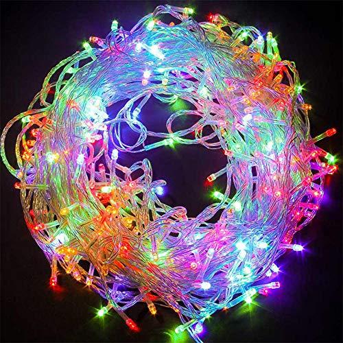 Luces de cadena LED, luces de Navidad para decoración al aire libre,...