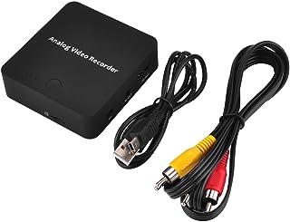 KKmoon 272 AVキャプチャレコーダーアナログからデジタルビデオへ 変換AV HD出力TFカードファイル 保存と再生