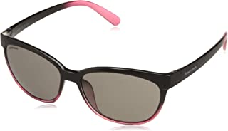Fastrack UV Protected Square Women's Sunglasses - (P400BK2F|57|Black Color)
