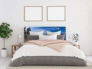 Cabecero Cama PVC Lago Tahoe 135x60cm | Disponible en Varias Medidas | Cabecero Ligero, Elegante, Resistente y Económico