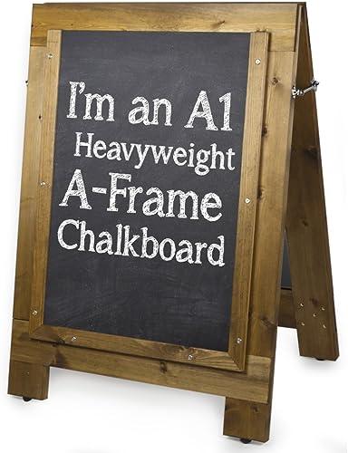 Chalkboards UK A1Heavyweight réversible en A (1000mm X 1200mm)