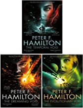 Void Trilogy Series 3 Books Collection Set By Peter F Hamilton ( The Dreaming Void , The Temporal Void, The Evolutionary V...