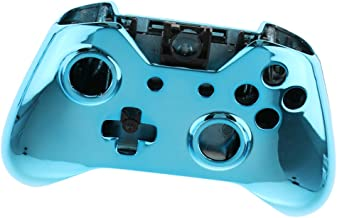 F Fityle Controller Shell Replacement Chrome Plating Front Housing Cover Case for Xbox One Wireless Controllers