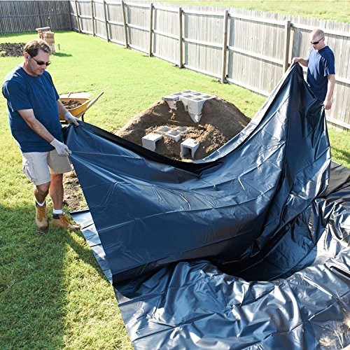 TotalPond pond skins Pond Liner, 10 by 13-Feet