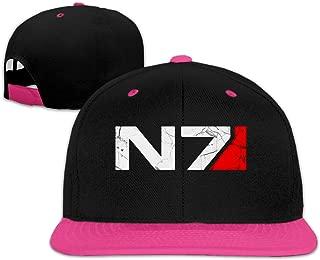Mass Effect Men Women Hip Hop Hat Trucker Flat Hats Adjustable Snapback Hats
