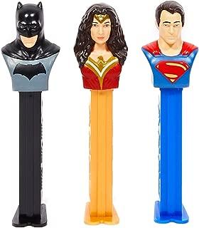 Various DC Comic Character Pez Despensers, Includes (1) assorted PEZ dispenser
