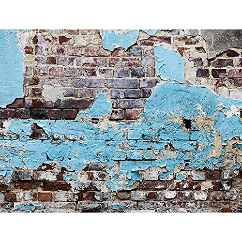 Faretti in vinile muro di mattoni fotografia sfondo puntelli retro studio sfondo foto puntelli tenda A6 9x6ft 2.7x1.8m