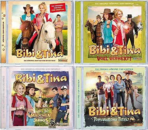 Bibi & Tina - Hörspiele 1+2+3+4 zum Kinofilm im Set - Deutsche Originalware [4 CDs]