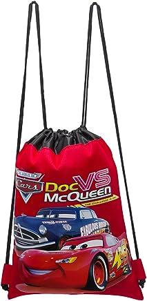 9dc6e929ba92 Disney Cars Red Drawstring Bag