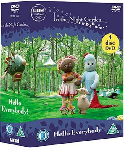 In the Night Garden: Hello Everybody! Collection (4 DVDs)