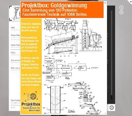 Goldgewinnung: Deine Projektbox inkl. 130 Original-Patenten bringt Dich mit Spaß hinter die Geheimnisse der Technik!