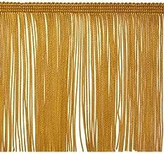 Expo International 20-Yard Chainette Fringe Trim, 6-Inch, Gold