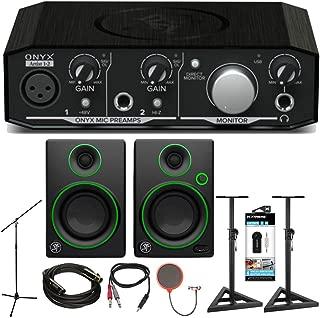 Mackie Onyx Artist 1-2 2x2 USB Audio Interface with CR3 3