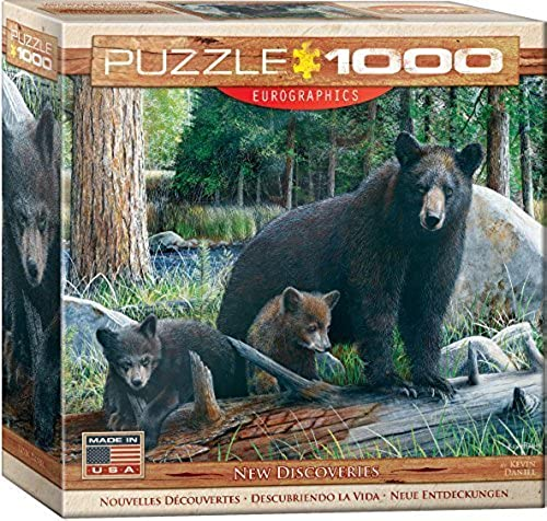 EuroGraphics New Discoveries Puzzle (1000 Piece) by EuroGraphics