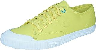 Tretorn T58 Poplin Womens Trainers/Plimsoles - Yellow