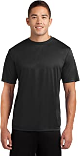 Dri-Tek Men's Big & Tall Short Sleeve Moisture Wicking Athletic T-Shirt
