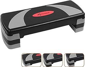 Active Forever Aerobic stepper voor thuis, quiltplank, 3 instelbare hoogtes (10 cm/15 cm/20 cm), geschikt voor thuis en op...