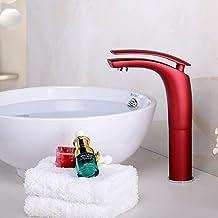 LCBLC Huis Multi-Color Bad Messing Wastafel Kraan Koud en Warm Water Kranen
