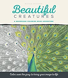 greyscale coloring book Beautiful Creatures