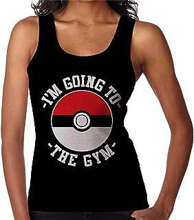 RHEYJQA Im Going to The Gym Monster of The Pocket Women's Vest