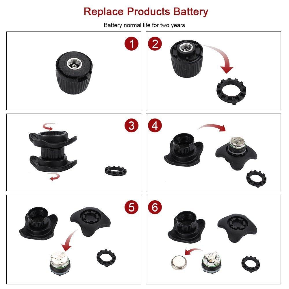 Manómetro de presión de neumáticos para medir rápidamente la presión de las ruedas de coche moto de bicicleta o cualquier tipo de neumático hinchables: Amazon.es: Coche y moto