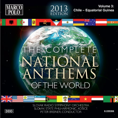 """Chile Himno Nacional de Chile (National Anthem of Chile), """"Chile, your sky…"""" [Olympic version] [arr. P. Breiner]"""