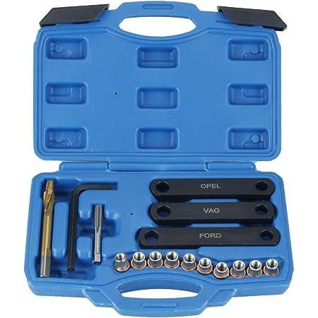 Gecheer M9 X 1 25 Reparatursatz Für Bremsgewinde Bremssattelführung Gewindereparaturwerkzeug Baumarkt