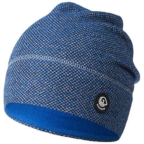 GIESSWEIN Merinowollmütze Hohes EIS - Unisex Strickmütze aus Merinowolle für Damen & Herren, Atmungsaktiv, Temperaturregulierend, Beanie für Männer & Frauen, ideal für den Wintersport, tolle Passform