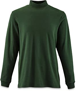 Men's Mock Turtleneck Long-Sleeve Shirt