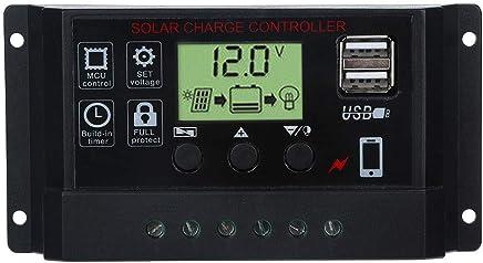 5-20 V Zu 5 V 3A Doppel USB Solar Panel Regler Controller Ladegerät