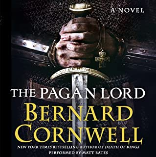 The Pagan Lord audiobook cover art