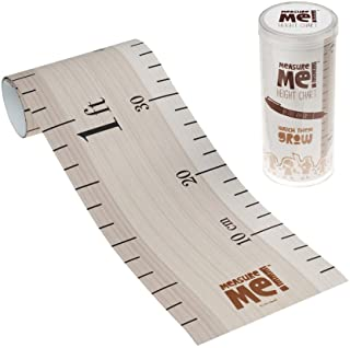 Little Wigwam Measure Me! Baby Roll-up Growth Height Chart for Children Kids Room - Retro Ruler